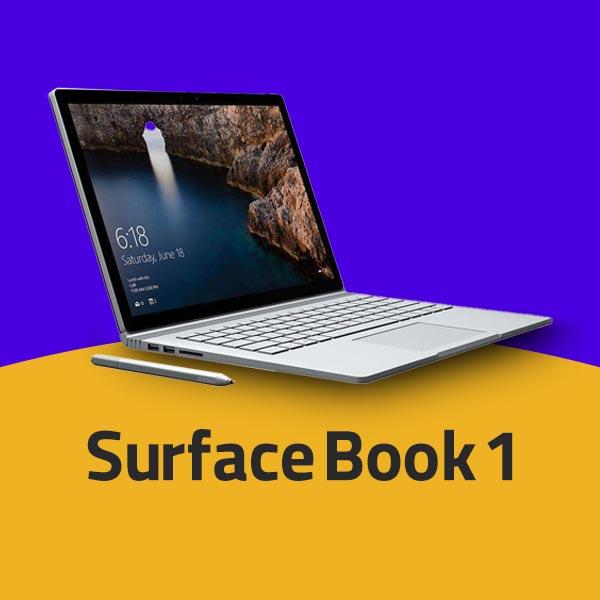 لپ تاپ تبلت شو surface book 1