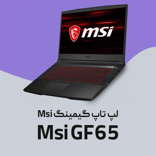 لپ تاپ ام اس آی Msi GF65